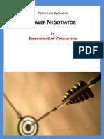 Power Negotiation Document