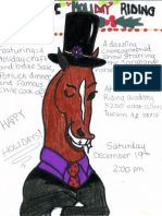 Sarabande Holiday Riding Recital 12/19/2009