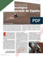 Huella Ecologica y Biocapacidad de España