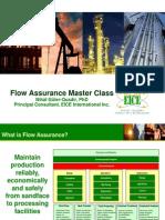 Advanced Flow Assurance