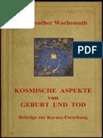 Dr. GUENTER  WACHSMUTH - KOSMISCHE  ASPEKTE  VON  GEBURT & TOD
