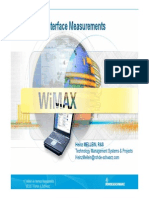 1WiMAX Air Interface Measurements