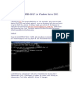 Setting Up Php