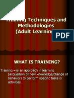 Training Techniques and Methodologies