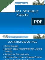 Procurement Training - Disposal of Assets