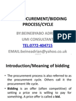 The Procurement Cycle, Uganda