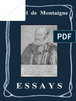 MONTAIGNE - ESSAYS
