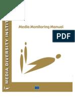 Media Monitoring Manual