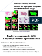 Automatic Quality Assessment of Whole Slide Images - Virtual Slides