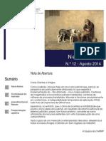 Newsletter CAMMP n.º 12 de Agosto de 2014