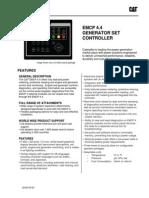 Caterpillar EMCP 4.4 Spec Sheet