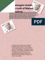 Sosatan Gwengwe Malawi Culture