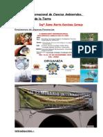 Symposium Internacional de Ciencias Ambient Ales (Resumens de Ponencias