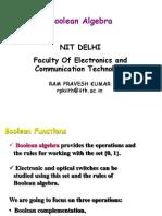 Boolean Algebra (4)