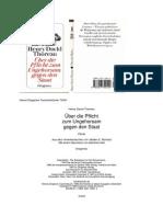 [Henry David Thoreau] Über Die Pflicht Zum Ungeho(BookZZ.org)