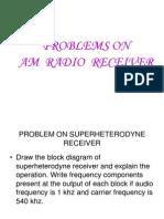 Radio Receivers Problems