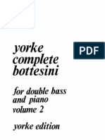 Yorke Complete Bottesini Vol 2 - Db