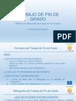 Módulo III. Bibliografía del TFG.pptx