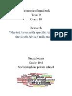 Economics Markets