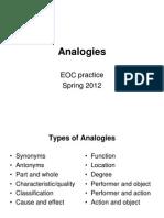 Analogies e Oc Bell Work 2012