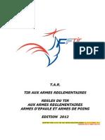 Reglement TAR Mars 2012 V2 21032012