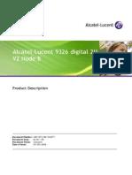 9326 d2Uv2 NodeB Product Description V2.0 Sep08