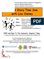 Musical Story Time Jam Fall 2014