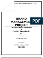 Brand Management Project