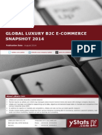 Product Brochure_Global Luxury B2C E-Commerce Snapshot 2014