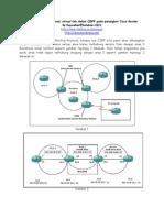 Belajar Mengkonfigurasi Virtual Link Dalam OSPF Pada Perangkat Cisco Router