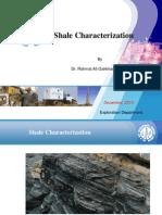 Shale Characterization