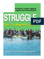 Struggle over the Negombo Lagoon