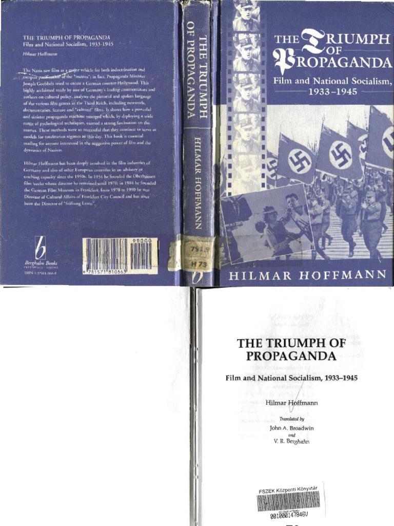 Hilmar hoffmann the triumph of propaganda film and national hilmar hoffmann the triumph of propaganda film and national socialism 1933 1945 1997 joseph goebbels adolf hitler fandeluxe Images