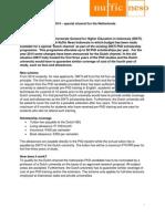 DIKTI PhD Scholarships 2014