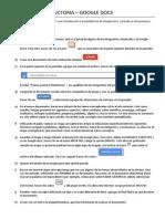 Actividad Introductoria Google Docs - 2014