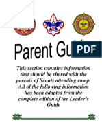 2008 Camp Conestoga Parent's Guide