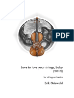 Erik Griswold - Love to Love Your Strings, Baby (2013)