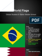 flags presentation