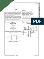 OpAmp - LF12741 - NatSem