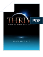 Thrive Movie Screening Kit 2012