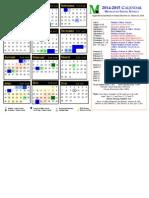 calendar 2014-2015