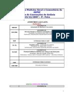 Programação Congresso ASPSF