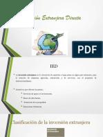 Crecimiento de Un País e Inversión Extranjera Directa y Bonos Internacionales LISTAA