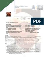 subiecte concurs lb romana2012