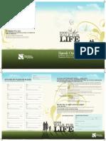 Walk For Life 2008 Sponsorship Brochure