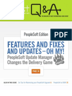 Peoplesoft Magazine - Features