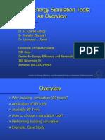 Charli and Mahabir Overview Simulation Model