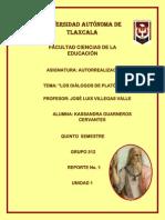 Diálogos de Platón