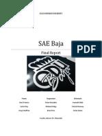 Sae Baja Final Report