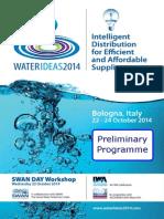 WaterIDEAS 2014 Technical Programme
